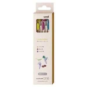 uni MITSUBISHI PENCIL uni-ball one Gel Ballpoint Pen 3 Colors Set 0.5㎜ Spring