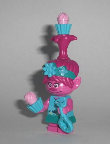 Poppy LEGO Trolls Figur Minifigur Troll Trolle Pop City Branch 41251
