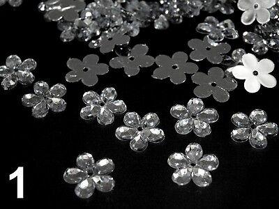 ca. 500 Streublüten Acryl Dekoration Blüten Tischdeko Streudeko  Kommunion