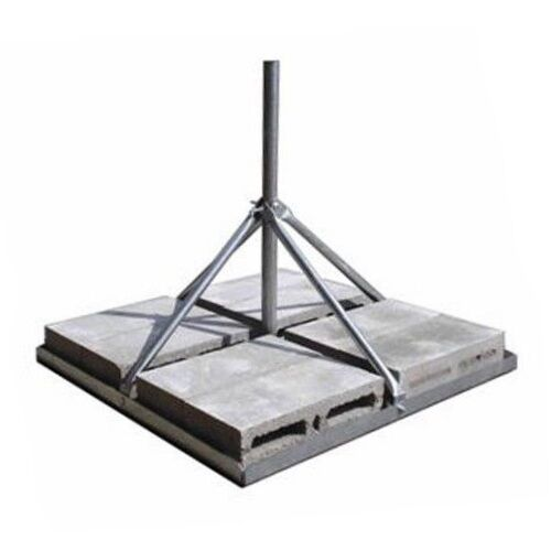 """Satellite WiFi ROHN FRM225 Non-Penetrating Roof Mount with 2.25/"""" x 60/"""" Mast"""