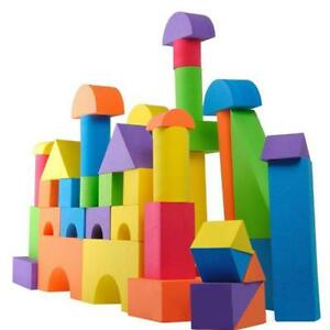Pop-Colorful-Soft-EVA-Foam-Building-Blocks-Bricks-Set-Children-Kids-Play-Toys-Z