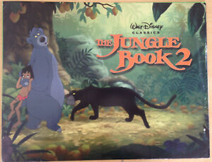 Disney Lithographs: JUNGLE BOOK 2 LION KING WINNIE THE POOH BAMBI 101DALMATIANS2