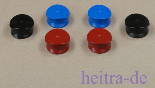 LEGO 6 x Mütze für Polizei Schaffner Pilot Offizier in 3 Farben  3624 NEUWARE