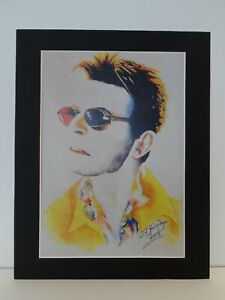 David-Bowie-original-Art-S2-14-034-x-11-034-A4-Mounted-Print