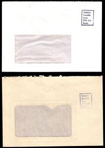 zwei-Gebuehr-bezahlt-Belege-der-Deutschen-Post-der-DDR-1980er-Beilage