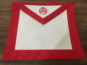 Details about Royal Arch Apron, Royal Arch Lambskin Apron, Masonic Aprons,  Past High Priest Ap