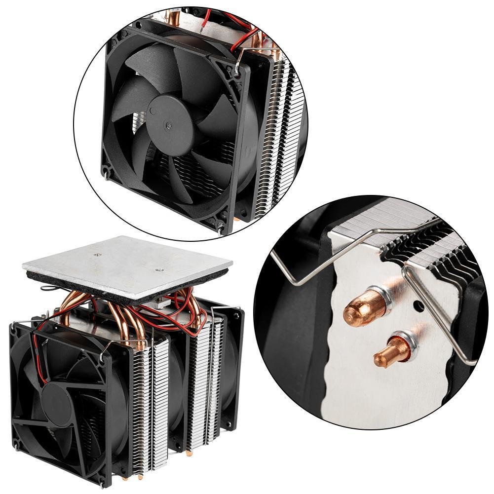 120W 12V Thermoelectric Semiconductor Cooler Refrigerator Cooling System Device