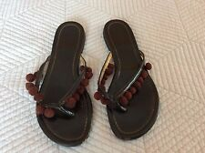 037c57af889b95 item 6 Tory Burch Miller brown Patent Leather Thong Sandals Size 6.5 M -Tory  Burch Miller brown Patent Leather Thong Sandals Size 6.5 M