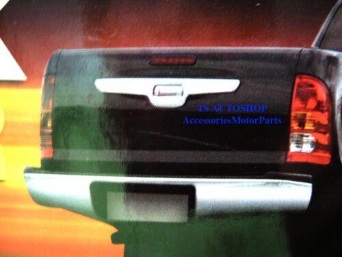 CHROME REAR BACK FENDER LINER TAILGATE COVER FOR TOYOTA HILUX VIGO CHAMP 2011+