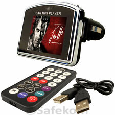 Car MP3 MP4 Player with Remote Support upto 8gb SD Card Play Video in AVM