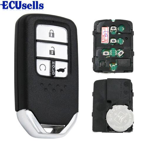 Smart Remote Key Fob 4 Button 434MHz 47 Chip for Honda URV CRV 2017-2018