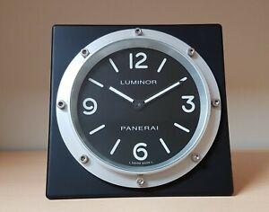 Panerai-pvd-black-counter-dealer-clock-mint-in-original-box