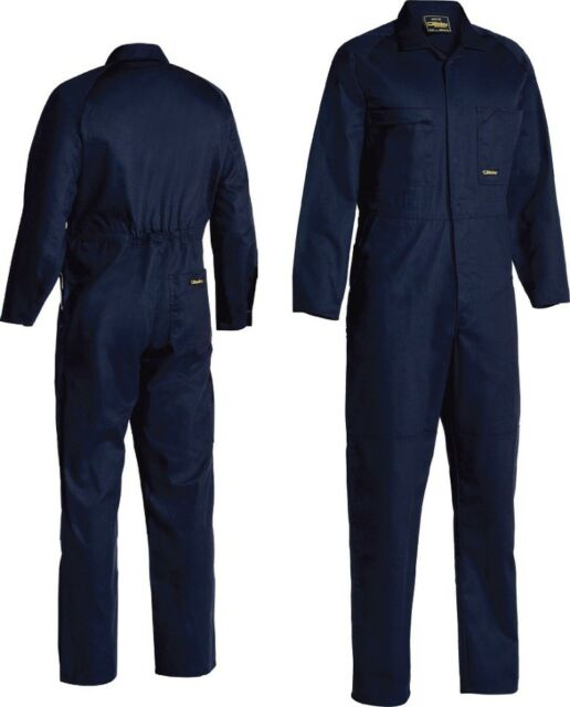 Bisley Workwear Mens Coveralls Regular Weight Drill Coverall (BC6007)