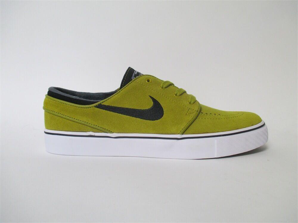 Nike SB Zoom Stefan Janoski Peat Moss Noir blanc Mustard Sz 13 333824-306