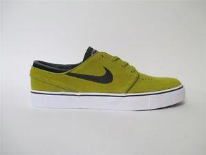 ce67ecc525253 Nike SB Zoom Stefan Janoski Peat Moss Black White Mustard Sz 9 ...
