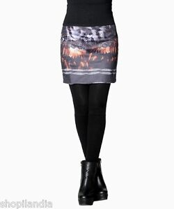 Falda-Kjol-Gonna-Jupe-Skirt-Rock-Krilo-SMASH-Wear-Barcelona-HERO-Talla-Size-S