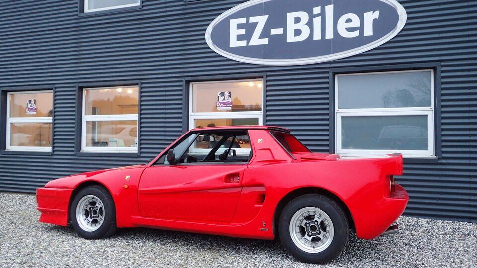 Fiat X 1/9 1,5 Targa Benzin modelår 1987 km 118000 Rød