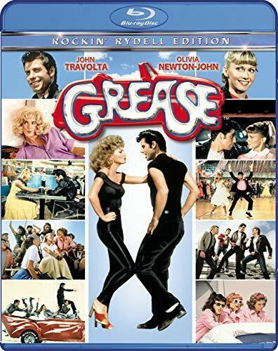 Grease (1978 John Travolta Olivia Newton John) (Rockin' Rydell) BLU-RAY NEW