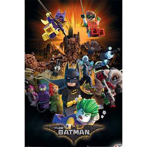 Lego-Batman-Boom-POSTER-61x91cm-NEW-Harley-Quinn-Batgirl-Robin-Joker-Poison