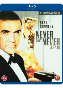 Never-Say-Never-Again-007-Sean-Connery-IMPORT-Blu-Ray-NEW-USA-Compatible