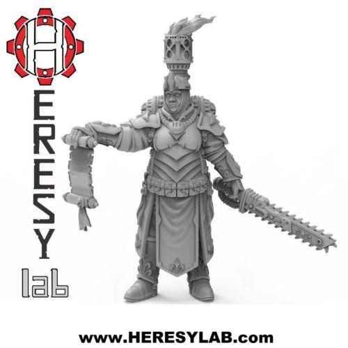 Heresylab Female Battle Sister Warhammer 40k Proxy HL14 Mary
