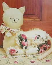 Cat Door Stop or Toy Sewing Pattern