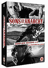 Sons Of Anarchy - Series 1-3 - Complete (DVD, 2011, Box Set) New Factory Sealed