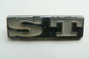 Peugeot-ST-sigle-embleme-logo-insigne-monogramme-de-carrosserie-aluminium
