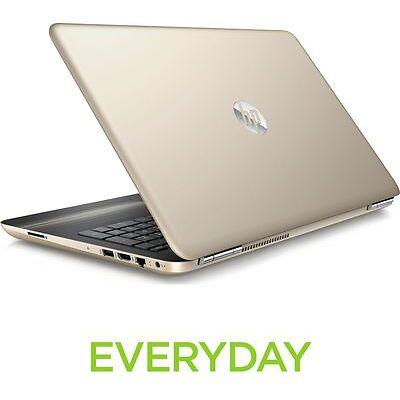 "HP Pavilion 15-au179sa 15.6"" Laptop 128GB SSD 8GB RAM DDR4 Windows 10 Gold"