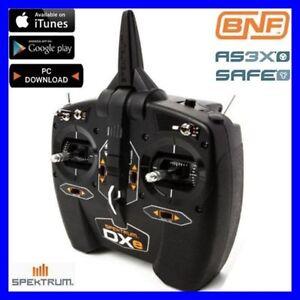 Spektrum-DXe-6ch-2-4ghz-DSMX-RC-Airplane-Helicopter-Transmitter-TX-SPMR1000