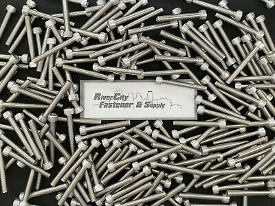 M8-1.25x60 Stainless Steel Hex Head Tap Bolts Full Thread 8mm x 60mm 5