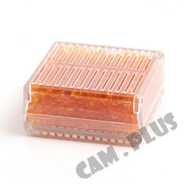 Silica Gel Desiccant Moisture Orange Indicating For Absorb Box Reusable