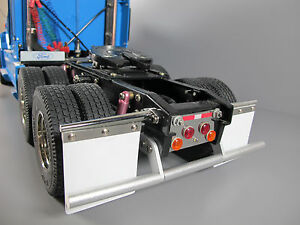 Details about Custom Rear Aluminum Bumper Guard Tamiya 1/14 Semi Man TGX  XLX Knight Hauler