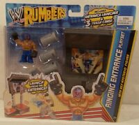Wwe Mattel Rumblers Ring Ringing Entrance Playset With Rey Mysterio Figure Misp