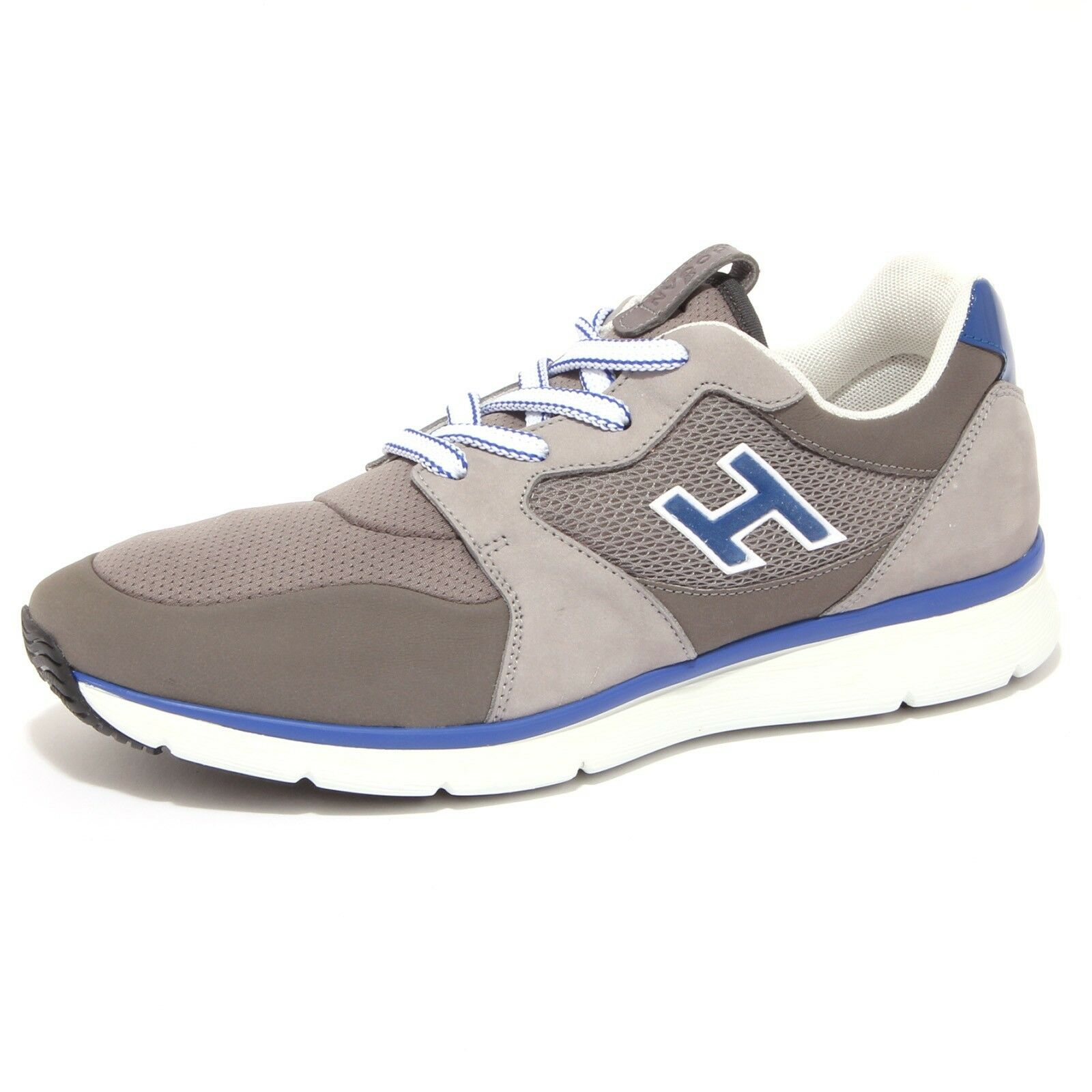 4205Q sneaker hombre HOGAN NEW SNEAKER H FLOCK Gris/blu Gris/blu Gris/blu Gris Zapatos  Hombre 377323