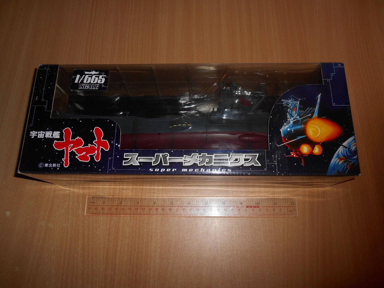 Taito Super Mechanics échelle 1 665 Espace Cuirassé Yamato (200x) JP