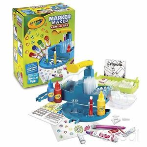 New-Crayola-Marker-Maker-amp-Emoji-Tips-Creative-Set-Pens-Art-Craft-Draw-Official