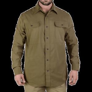 greenx Men's Olive  Green Long Sleeve Guardian Shirt – VTX1440-OG-M  latest styles