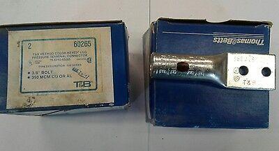54906 T/&B #4 COMPRESSION LUGS BOX OF 50