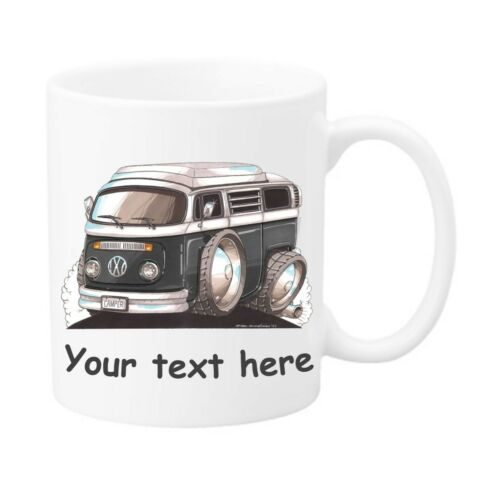 Personalised Koolart Camper Van Tea Coffee Mug Cup Great Novelty Birthday Gift
