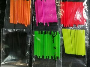Hollow Pole Float Tips 1.0mm Pole float making /& supplies 1.7mm