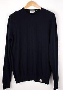 CARHARTT-Men-Playoff-Lambswool-Nylon-Knit-Sweater-Jumper-Size-L-ATZ702