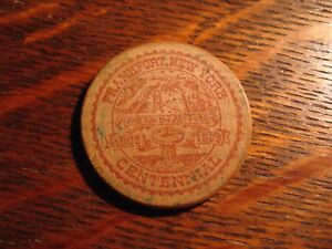 Details about Frankfort NY Wooden Nickel - Vintage 1963 New York USA City  Centennial Souvenir