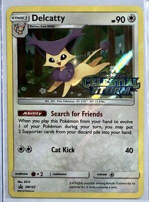 for Pokemon TCG Online DIGITAL ptcgo in Game Card Promo SM132 Delcatty