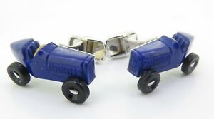 A-Fine-Pair-Of-Paul-Longmire-18k-Gold-Lapis-Lazuli-Vintage-Car-Cufflinks