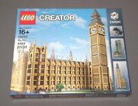 Lego Big Ben Set 10253 London, England Clock Tower Creator Expert Sealed