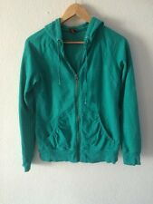 Merona Hoodie Zip Up Sweatshirt Jacket Hooded Top Size S Uk 10 <R97