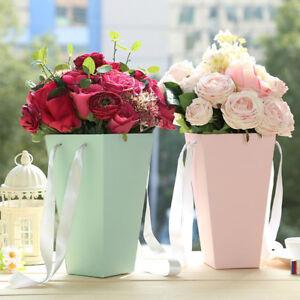 Am-KQ-Bouquet-Flower-Box-Paper-Vases-Florist-Case-Bucket-Wedding-Party-Decor-F