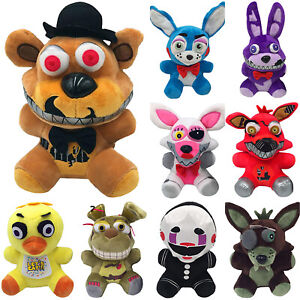 Five-Nights-at-Freddy-039-s-Bonnie-Foxy-Soft-Doll-Plush-Stuffed-Toy-Figures-Gifts