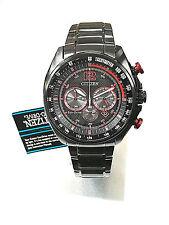 Citizen Eco-DRIVE CA4195-51E Men's Black/Red Solar Chronograph Watch